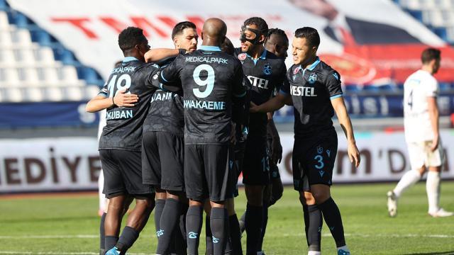Trabzonspor Kasımpaşada hata yapmadı