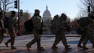 Washington'daki ulusal muhafızların görev süresinin uzatılması planlanıyor