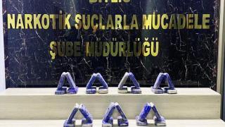 Bitlis'te uyuşturucu operasyonu: 3 gözaltı
