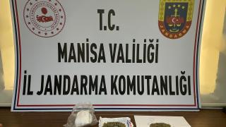 Manisa'da otomobilinde uyuşturucu bulunan kişi gözaltına alındı
