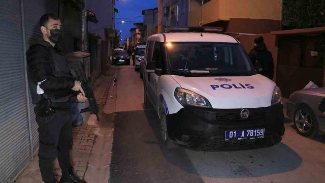 Adanada drone destekli uyuşturucu operasyonu