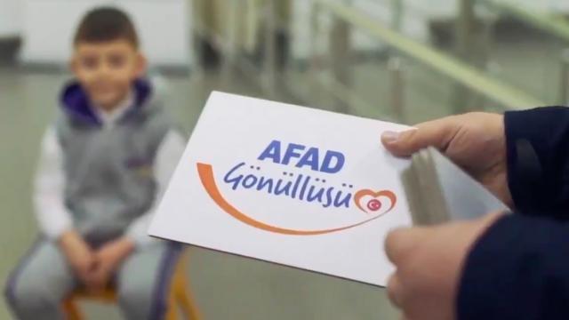 AFAD gönüllülük yaşı 15e düşürüldü