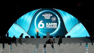 AK Parti Kadın Kolları Kongresi bugün Ankara'da yapılacak