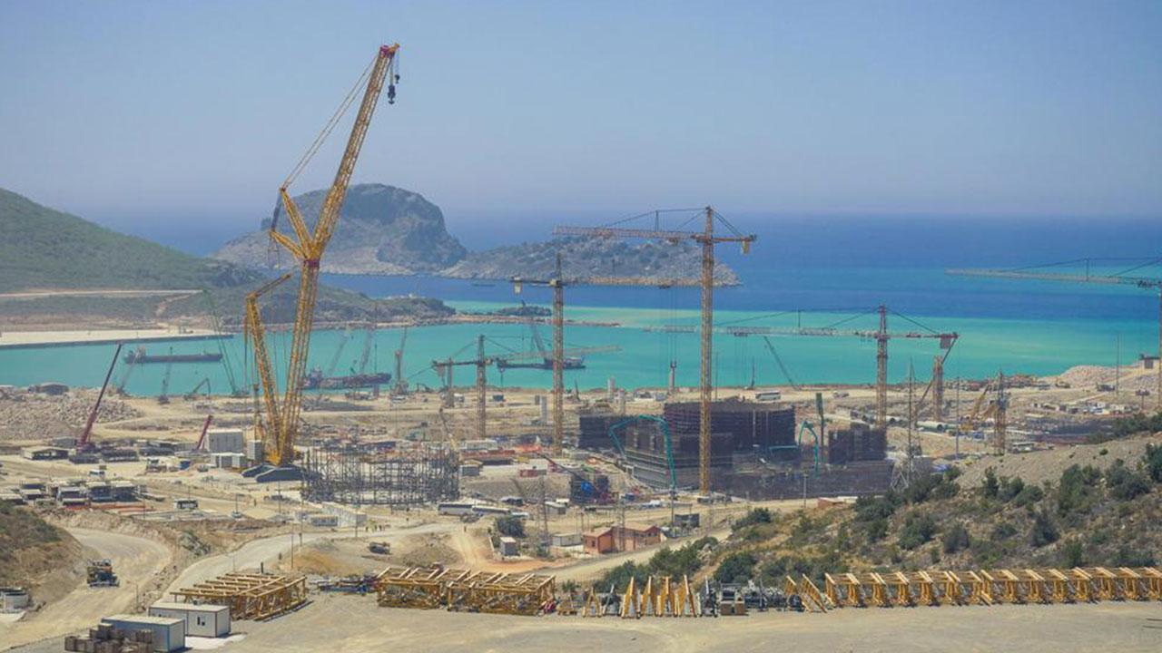 Türkiye'nin ilk nükleer güç santrali Mersin'de yükseliyor