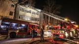 Ankara'da mobilya atölyesinde yangın