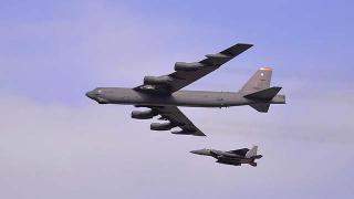 ABD bombardıman uçakları Orta Doğu üzerinde devriye uçuşu yaptı