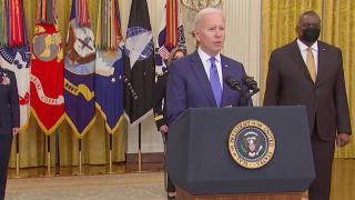 Biden, Savunma Bakanı'nın adını unuttu
