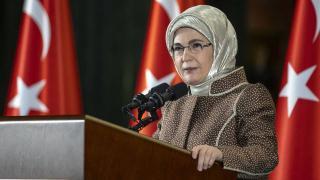 Emine Erdoğan: Şiddet salgınını ortadan kaldırmak için iş birliğimizi artırmalıyız