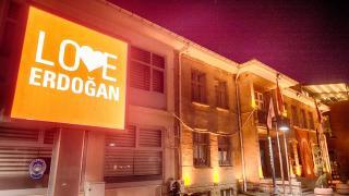 New York'a tepki olarak bilbordlara 'Love Erdoğan' görseli yansıtıldı