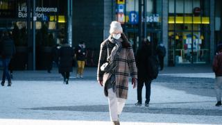 Finlandiya'da sokaklar boş kaldı