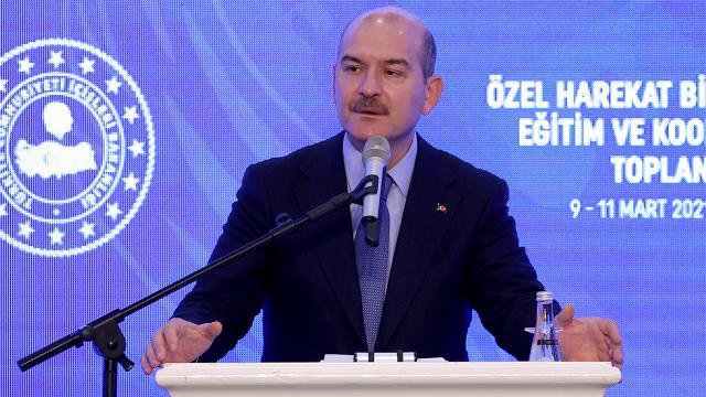 Bakan Soylu: Türkiyedeki terörist sayısı 189a indi