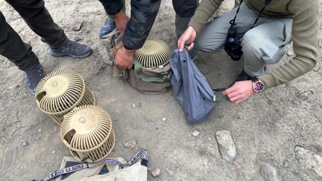 Iğdırda kaçak keklik avcılarına 11 bin 328 lira ceza kesildi