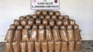 Elazığ'da 426 kilogram kaçak tütün ele geçirildi