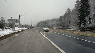 Bolu Dağı'nda kar etkisini artırdı