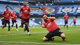 Manchester United Manchester City'nin galibiyet serisini bitirdi