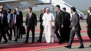 Papa'nın Irak ziyareti sürüyor: Erbil ve Musul'a gitti