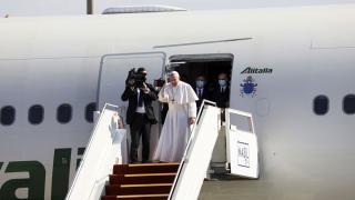 Irak ziyaretini bitiren Papa İtalya'ya döndü