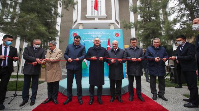 Türkiyenin Semerkant Başkonsolosluğunun açılışı yapıldı