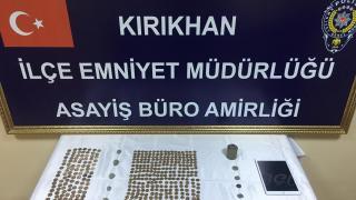 Hatay'da 10 bin 829 sikke ele geçirildi: 3 gözaltı
