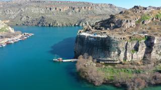 Tarihi Rumkale turizme açılmak için gün sayıyor