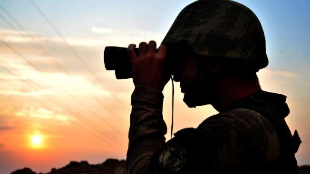 Barış Pınarı bölgesinde 2 PKK/YPGli terörist etkisiz hale getirildi