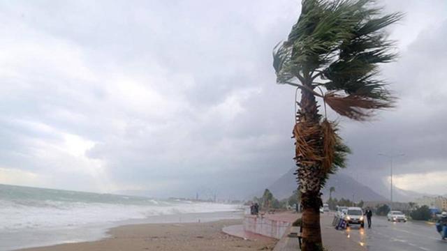 Güney Ege ve Batı Akdenizde fırtına bekleniyor