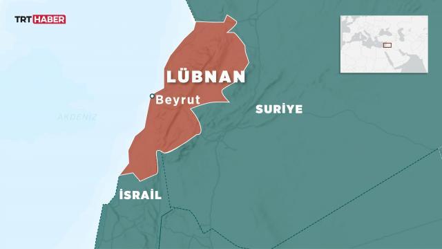 Lübnanda bir kamyondan 20 ton amonyum nitrat çıktı
