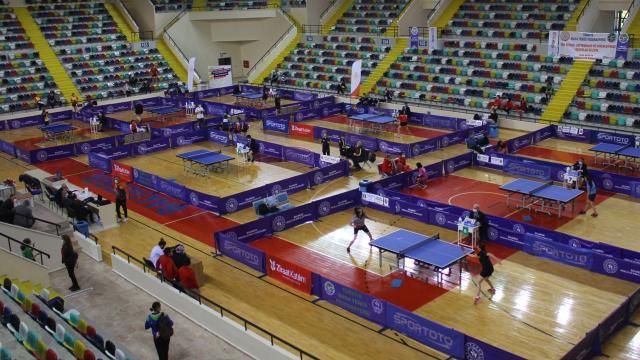 Masa tenisinde Süper Ligin 3. etabı Ankarada yapılacak