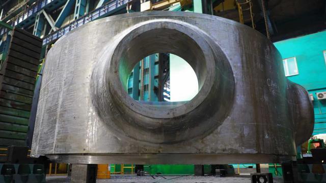 Akkuyu NGSnin 3. güç ünitesi için reaktör üretimine başlandı