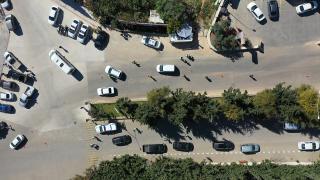 Hatay'da dron destekli trafik denetiminde 11 sürücüye ceza kesildi