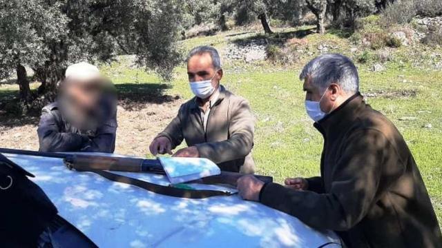Av kontrolünde 3 kişiye 18 bin TL ceza kesildi