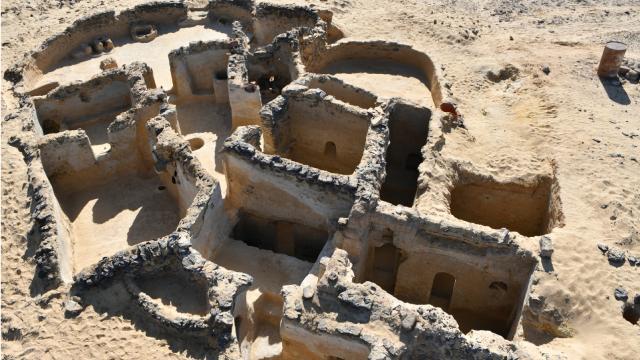 Mısırda 5inci yüzyıla ait Hristiyan yapısı kalıntıları bulundu