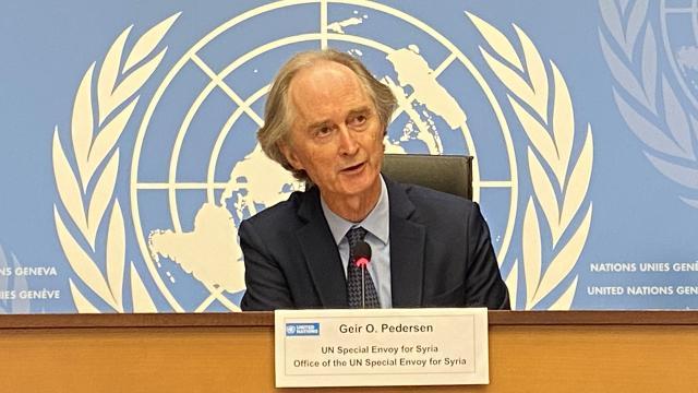 BM Suriye Özel Temsilcisi Pedersen: Türkiyenin önemini anlıyor ve takdir ediyoruz
