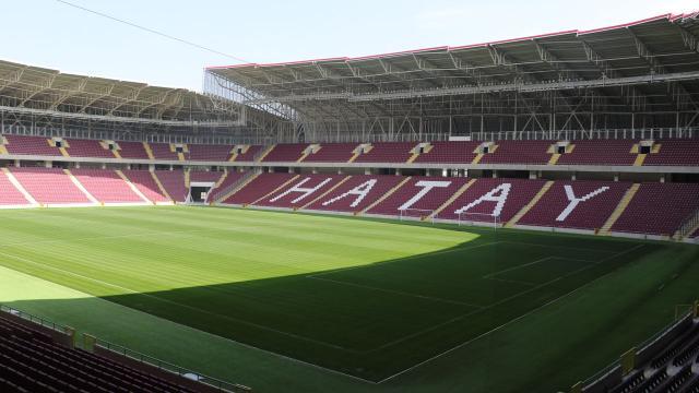 Hatayspor yeni stadı için gün sayıyor