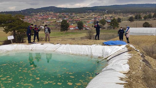 Burdurda sulama havuzuna düşen kişi öldü