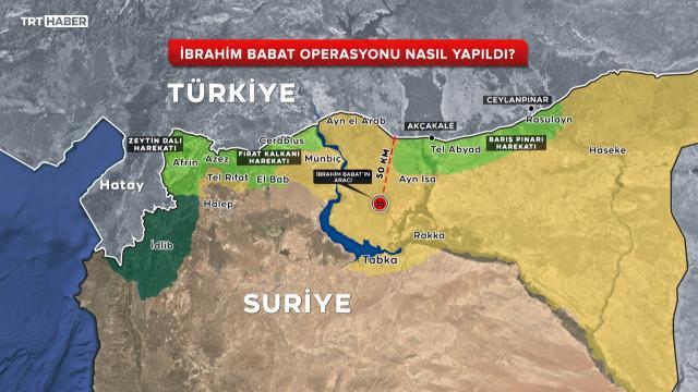 Suriyede derin operasyon