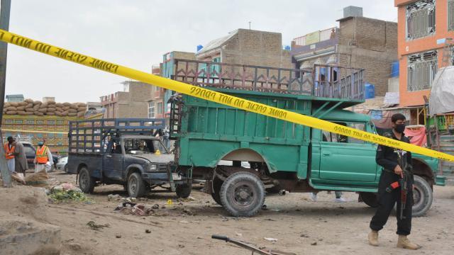 Pakistanda bombalı saldırı: 1 ölü, 11 yaralı
