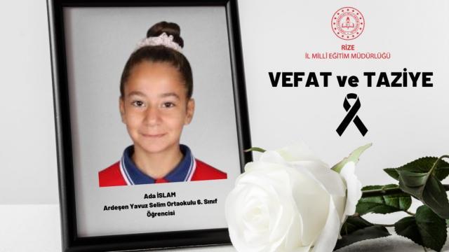 Karın ağrısı şikayetiyle hastaneye götürülen Ada, hayatını kaybetti