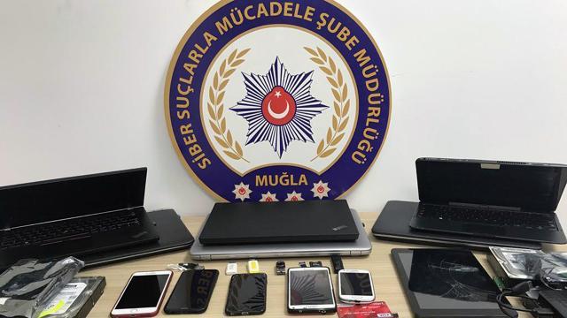 Muğla merkezli 9 ilde siber dolandırıcılık operasyonu: 18 gözaltı