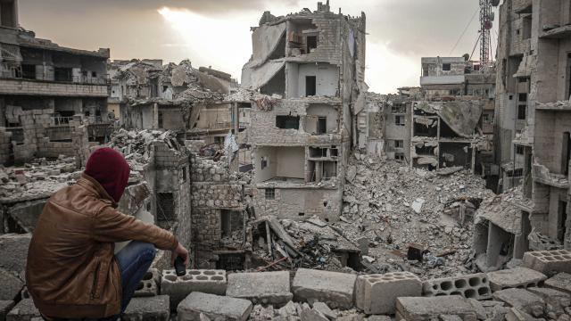 """BMden """"Suriye iç savaşı"""" açıklaması: Ölenlerin sayısı 350 bin"""