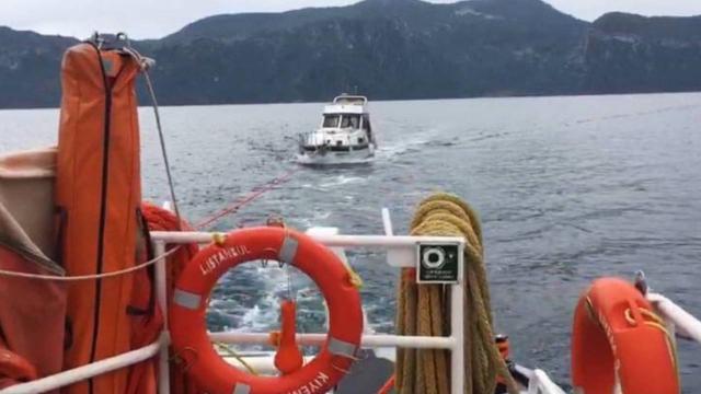 Muğlada sürüklenen teknedeki 3 kişi kurtarıldı