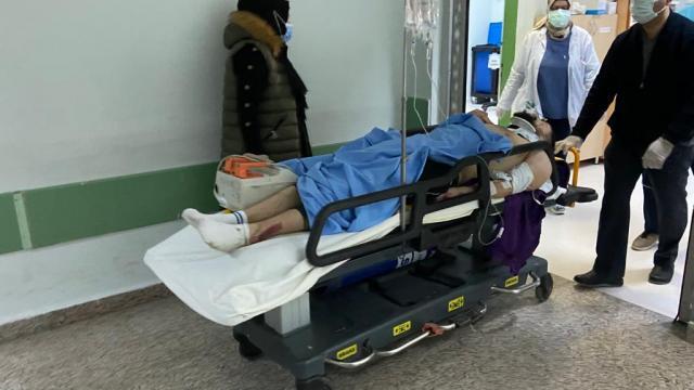 Samsunda otomobil ile motosiklet çarpıştı: 1 yaralı