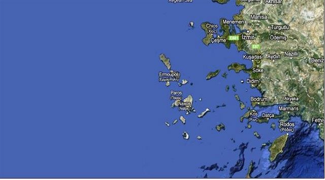 16 Ada Yunanistana Geçti