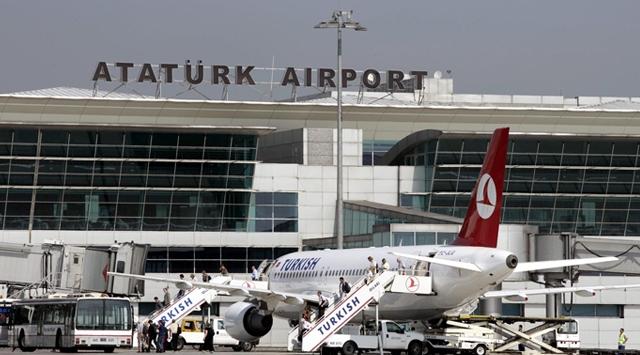 Atatürk Havalimanında hareketli anlar!