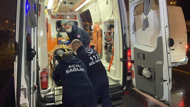 Fatihte kaza yapan araç takla attı: 1 yaralı