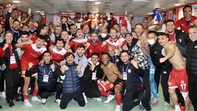 Antalyasporda 20 yıl sonra kupa finali sevinci
