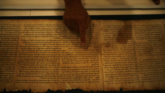 Yeni Ölü Deniz Yazmaları keşfedildi: Yaklaşık 1900 yıllık