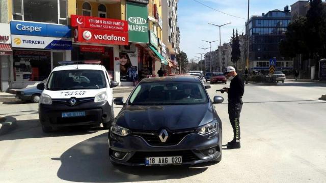 Çok yüksek riskli illerden Tokat, Sinop ve Amasyada Kovid-19 denetimleri sürüyor