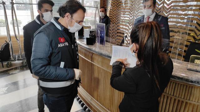 İstanbuldaki dinamik denetlemelerde 3 bin 69 kişiye para cezası