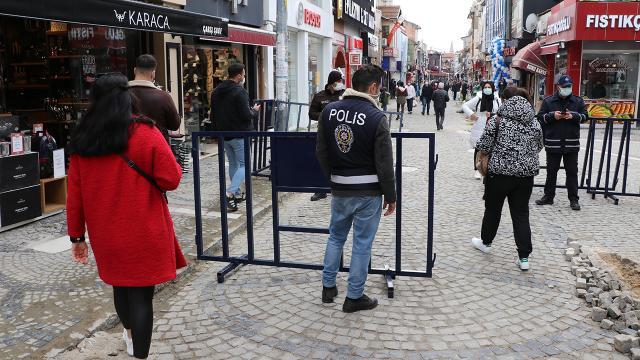 Gaziantepte tedbirleri ihlal eden 372 kişiye para cezası uygulandı